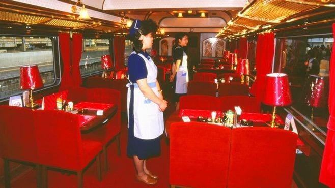 「食堂車」フランス料理も寿司もありの120年