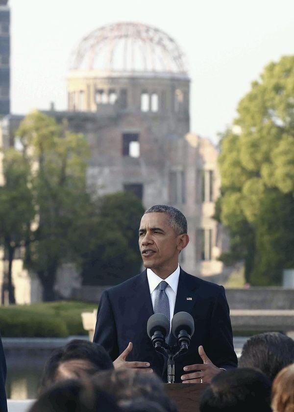 スピーチ オバマ 広島
