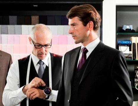 見習いたい!紳士のスーツ選び