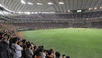 年末年始も活況、東京ドームは業績上振れ