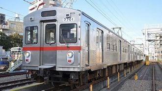 東急7700系、銀色電車のルーツがついに引退