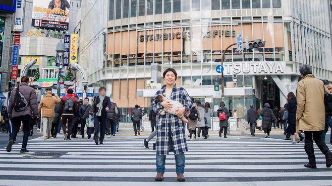 「授乳フォト」を渋谷の中心で撮影するワケ