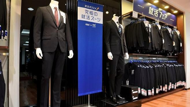 リクルートスーツの「制服化」が進んでいる