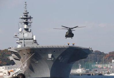 China waits to hear why Japanese warship going to South China Sea