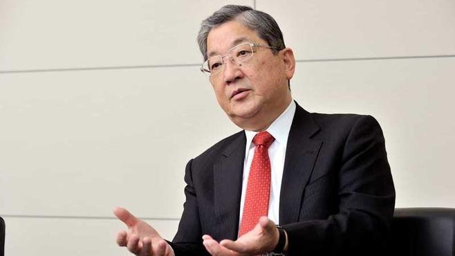 革新機構・志賀会長「東芝は検討していない」