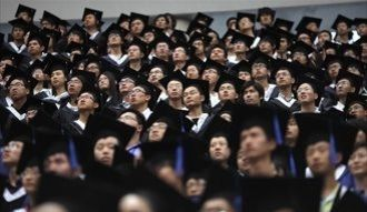 就職率は3,4割。中国の就活は大変です