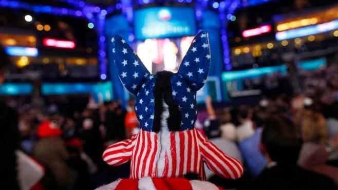 アメリカ中間選挙後は市場の動揺が頻発する