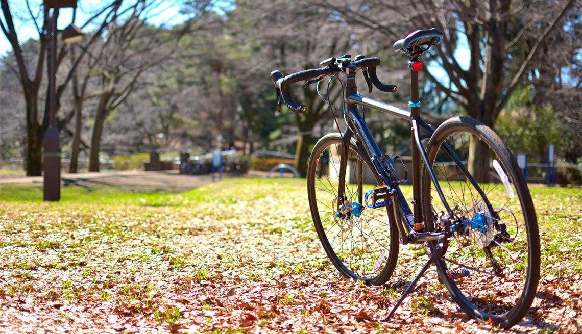 まずは自転車をレンタル