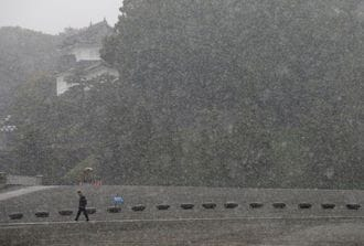 Tokyo Hit by First November Snow in 54 years