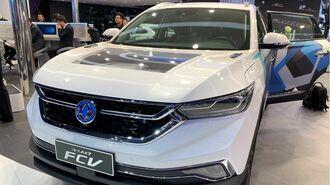 中国の燃料電池車ブームは日本企業に追い風か