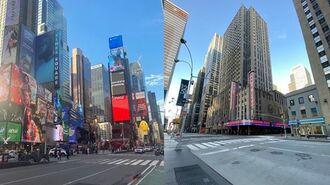 人が消えたニューヨークの街を歩き見えたこと