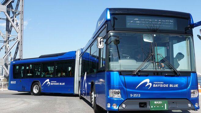 「国産連節バス」はダイムラーの牙城を崩せるか