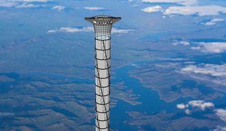 超高層タワーで宇宙旅行が簡単になる?