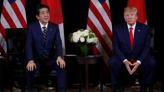 Abe and Trump – Two Desperate Men Facing Desperate Times