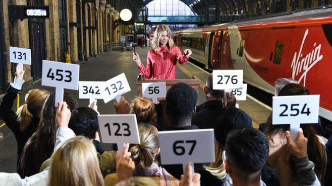 競売でゲット、英鉄道「ワンランク上の空席」