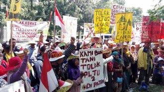 日本関与の「石炭火力発電」に反対運動が激化