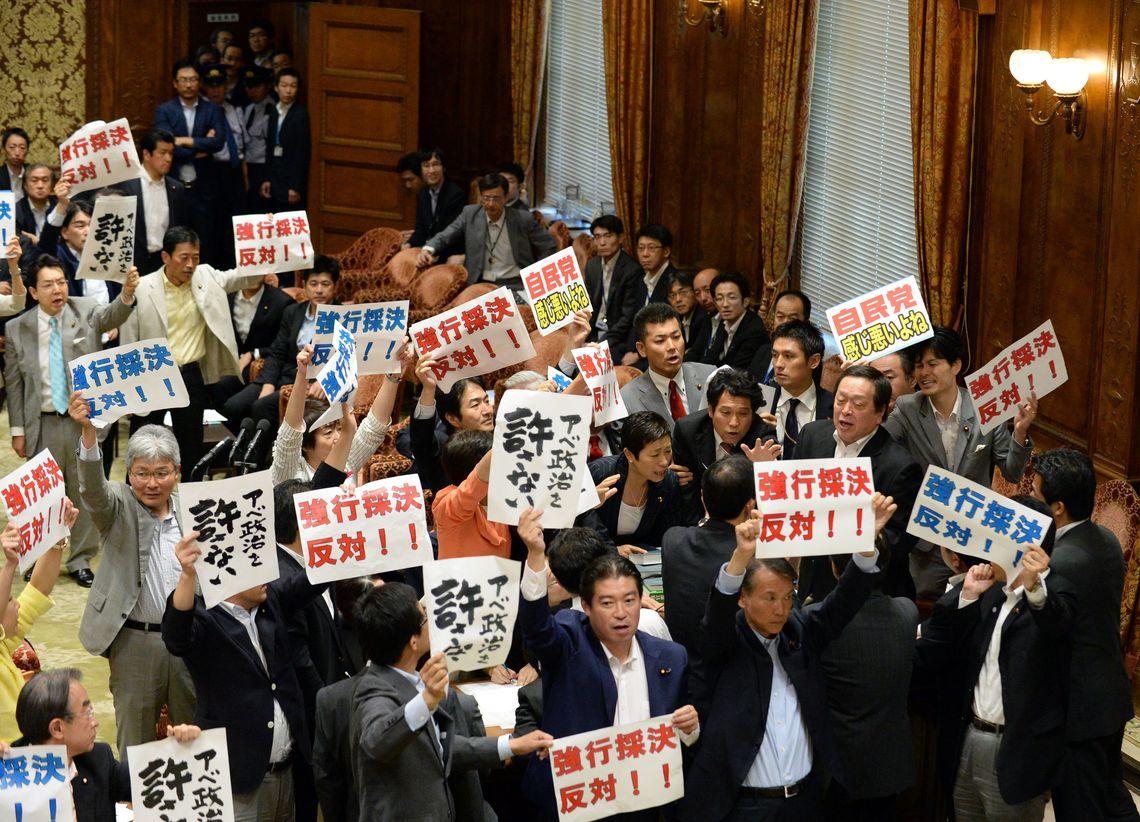 安保法案、「与党分裂参院」で波乱は起こるか | 国内政治 | 東洋経済 ...