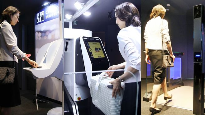 大混雑の成田空港、「顔パス搭乗」は救世主か