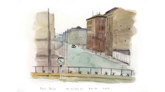 1986年「ベルリンの壁」で見た東側の強烈な印象