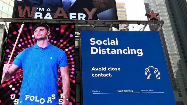 ニューヨーク市民「行動制限された」生活の現実