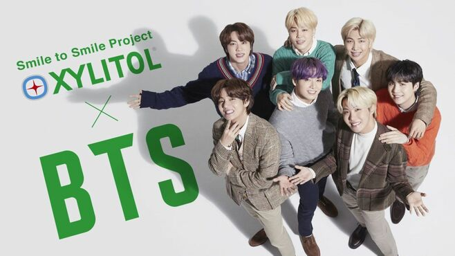 BTS×キシリトール、タッグを組む意外な理由