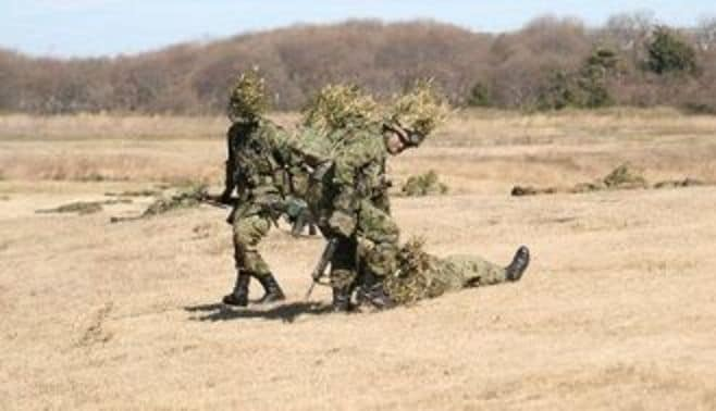 戦傷者は「想定外」という、自衛隊の平和ボケ