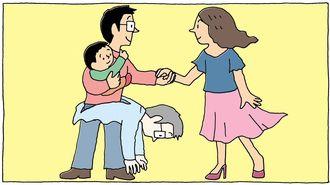 40代で突如、主夫になった男性の「運命の妻」