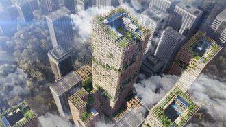 住友林業「高さ350m木造ビル構想」の真意