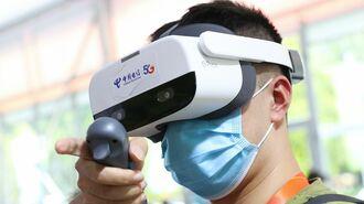 コロナの感染拡大「VRで防ぐ」中国の医療事情