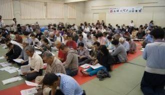 追い詰められる、福島・双葉町123人の避難民