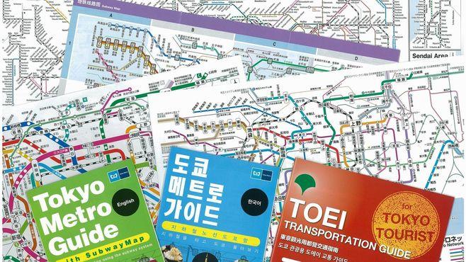ここが変だよ!東京の地下鉄路線図デザイン