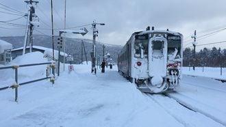 冬の北海道、銀世界の「ショートカット鉄旅」