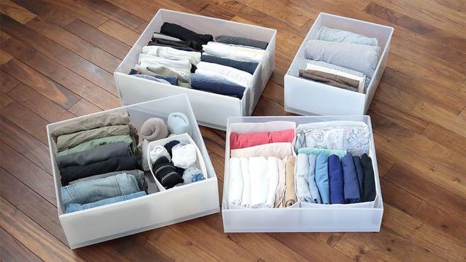 1カ月1カ所収納で気持ちいい「衣類の収納」を