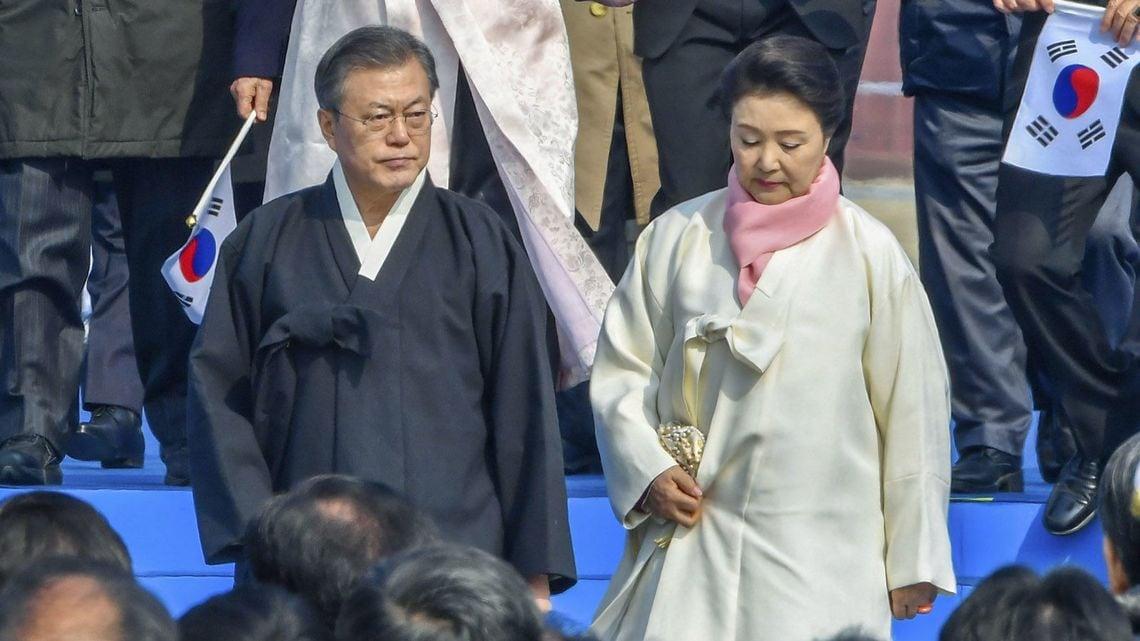 韓国 デモ なぜ