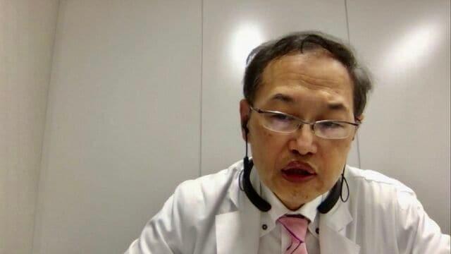 Zoomで取材に応じた郷間厳医師。普段は禁煙外来も担当している(筆者撮影、画像はZoomより)