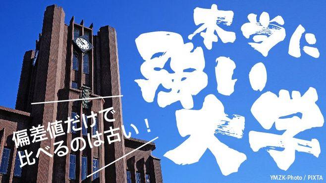 ニッポンの上場会社 トップの出身大学ランキング