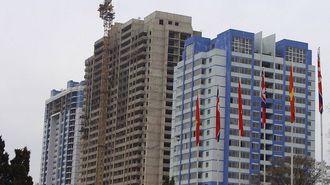 平壌の一等地で「ビル建設が中断」の異常事態