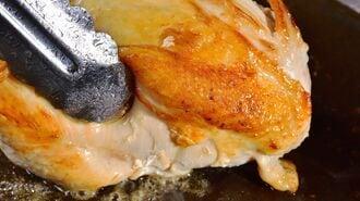 家庭の鶏肉「ジューシーに焼き上げる」簡単ワザ