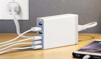 iPhone、iPadに最適な「急速充電器」とは?