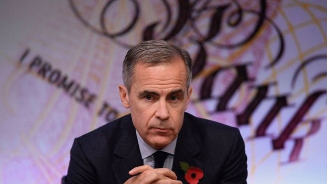英国中銀、インフレ抑制へ低成長でも利上げ