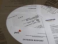 オリンパスが損失隠しに関わる「第三者委員会」の調査報告書を公表