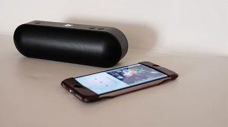 iPhoneに最適の未来派スピーカーが新登場
