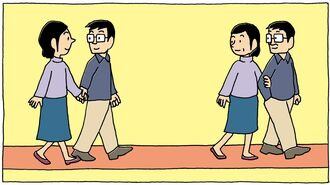 追跡!「結婚5年の幸福度」6組の想像超える変化