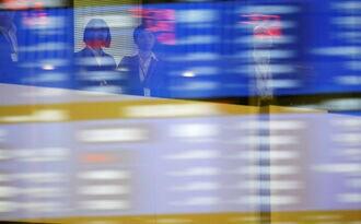 日経平均株価は小反発、朝高後は伸び悩み