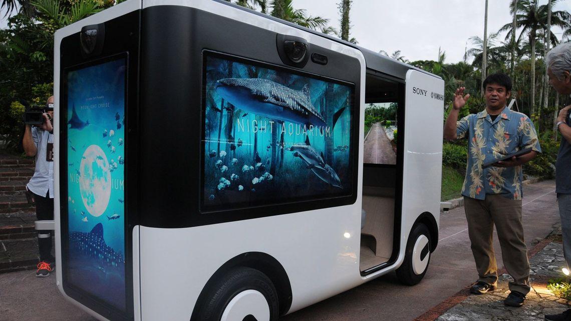ソニーが沖縄で開発する「自動運転車」の正体 | IT・電機・半導体・部品 ...