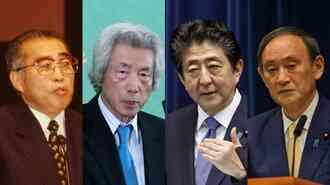 菅首相退陣「小渕」「小泉」「安倍」内閣との決定差