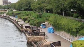 28年隅田川沿いに暮らすホームレスの生活