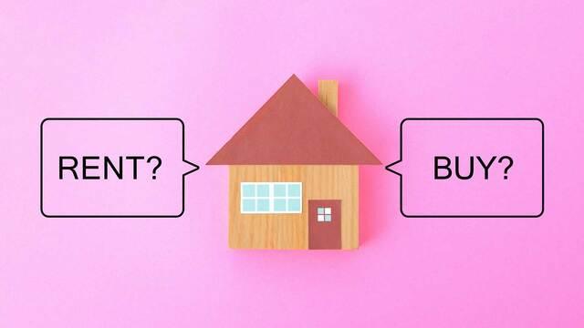 賃貸のメリット・デメリットを見ながら、自分にとってピッタリな住まいのあり方を探ります(写真:タカス/PIXTA)