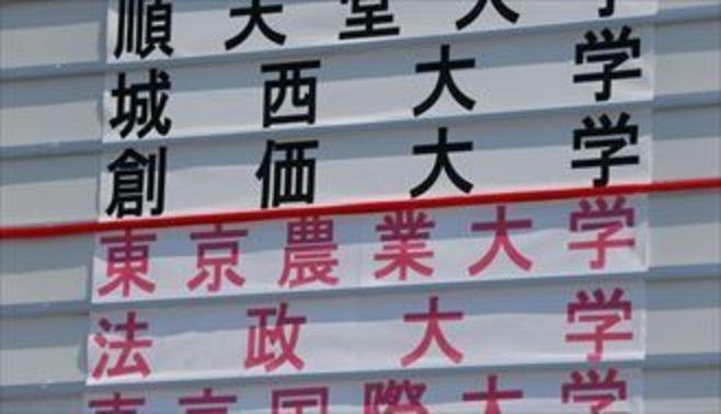 箱根駅伝予選、通過と敗退「涙の分岐点」