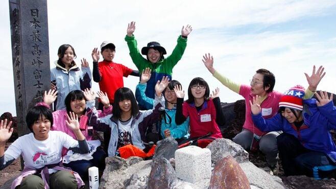 富士登山で「子供と真剣に向き合う」男の挑戦